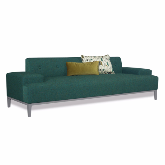 "Picture of BASALTO LOW ARM SOFA-INCL 1-9.5"" X 20.5 & 1-15"" X 22"" TOSS PILLOW"