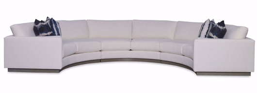 Picture of Langdon Plus Curved 3pc Sectional