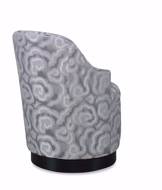 Picture of Logan Swivel Chair w/Wood Base